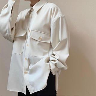 COMOLI - オーラリー  ウールマックスギャバジンシャツ