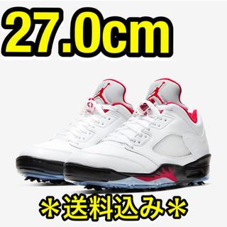 NIKE - 【流川カラー/送料込み】エアジョーダン5 ゴルフ Low 27.0  新品未使用