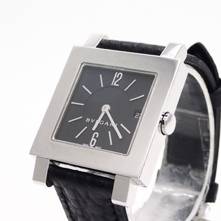 BVLGARI - 【BVLGARI】ブルガリ腕時計 'クアドラードSQ27SL' ☆電池交換済み☆