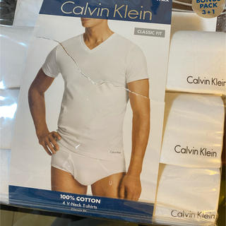 カルバンクライン(Calvin Klein)のカルバンクライン アンダーウェアー 3着セット VネックTシャツ(その他)