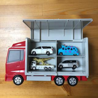 トミカ 収納大型トラック(ミニカー)