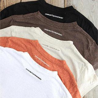 ルームサンマルロクコンテンポラリー(room306 CONTEMPORARY)のEmbroidered T-shirt(Tシャツ/カットソー(半袖/袖なし))