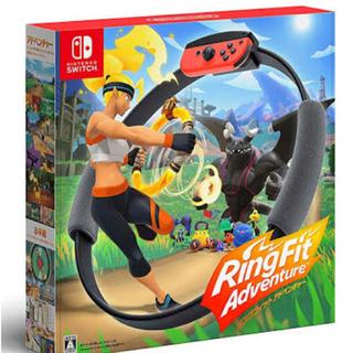 ニンテンドースイッチ(Nintendo Switch)のとも様 専用  リングフィットアドベンチャー(家庭用ゲームソフト)