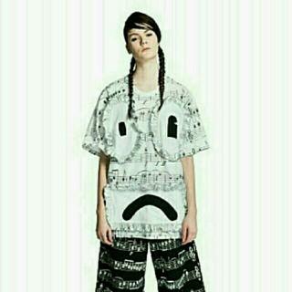 アンダーカバー(UNDERCOVER)の超破格♪Daniel Palillo 2014総柄フリルビックTシャツ(Tシャツ/カットソー(半袖/袖なし))