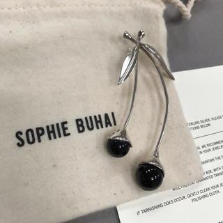 Plage - SOPHIE BUHAI オニキスチェリーピアス