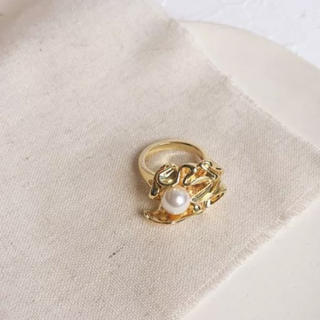 Santa Monica - Pearl Irregular ring No.127