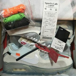 OFF-WHITE - NIKE AIR MAX 90 THE10 off-white 28cm