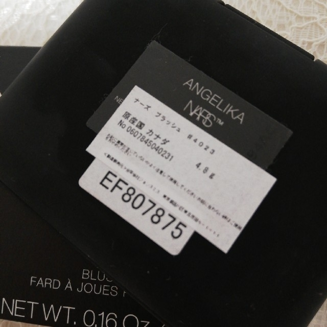 NARS(ナーズ)の最終♡4/5削除♧♧Nars ♡♡チーク♡♡人気色♡♡4023 コスメ/美容のベースメイク/化粧品(チーク)の商品写真