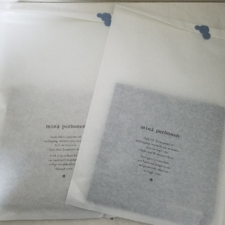 mina perhonen - 新品❗未使用、未開封💝 chocho ハンカチ2枚セット💝