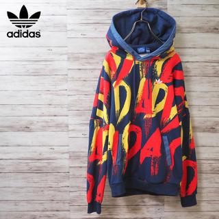 アディダス(adidas)のAdidas Originals Paris Print Hoodie(パーカー)