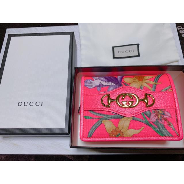 女性 時計 ブランド カルティエ スーパー コピー / Gucci - 新品未使用 GUCCIフラワープリントミニ財布の通販