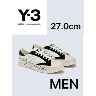 ワイスリー(Y-3)のSS20【新品】Y-3 YOHJI STAR ロゴスニーカー 27(スニーカー)