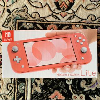 Nintendo Switch コーラル 新品 店舗印なし 任天堂