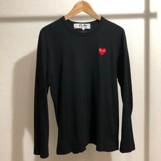 COMME des GARCONS - comme des garçons ロングtシャツ Lサイズ ブラック