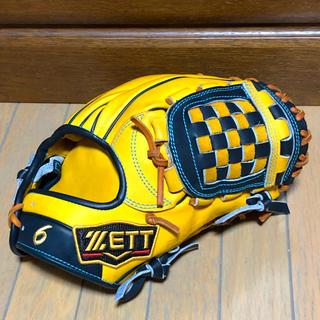 ZETT - 源田モデル ZETT プロステ 軟式 内野手オーダーグラブ
