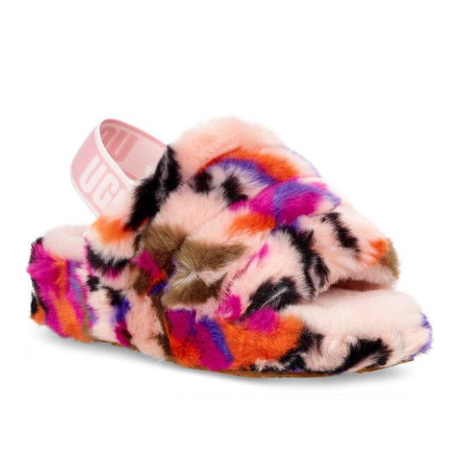 UGG(アグ)のugg ファーサンダル レディースの靴/シューズ(サンダル)の商品写真