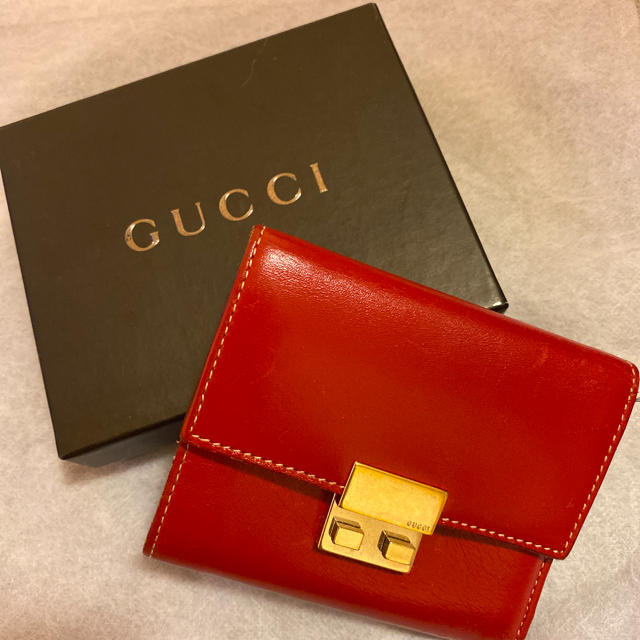 時計 購入 スーパー コピー 、 Gucci - GUCCI三つ折財布の通販