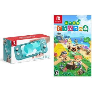 Nintendo Switch - Nintendo Switch Lite あつまれどうぶつの森 セット