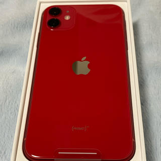 iPhone - iPhone 11 (PRODUCT)RED 64 GB SIMフリー