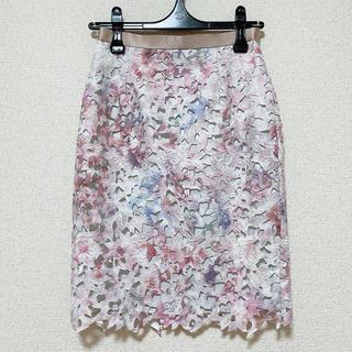 JUSGLITTY - JUSGLITTY♡レースタイトスカート ピンク