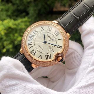 Cartier - カルティエ Cartier 自動巻き メンズ ダイヤ 腕時計 ゴールド 箱付き