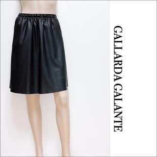 ガリャルダガランテ(GALLARDA GALANTE)のGALLARDA GALANTE フェイクレザー スカート♡レッセパッセ(ミニスカート)