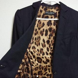 ドルチェアンドガッバーナ(DOLCE&GABBANA)の【美品】ドルチェ&ガッバーナ スーツ テーラードジャケット サイズ38(テーラードジャケット)
