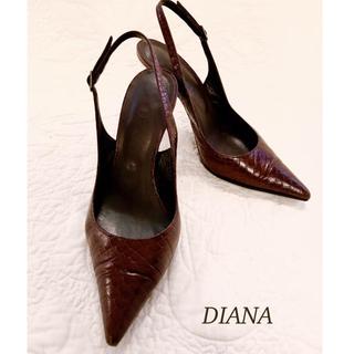 DIANA - ダイアナ ピンヒールポインテッドツゥ パンプス