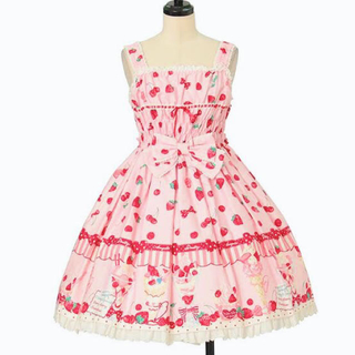Angelic Pretty - Angelic Pretty ♡ strawberry Parlor JSK