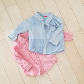 babyGAP - ベビーギャップ 長袖シャツ 2枚セット