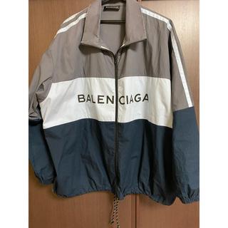 Balenciaga - 確実正規品 balenciaga バレンシアガ ロゴプリント トラックジャケット
