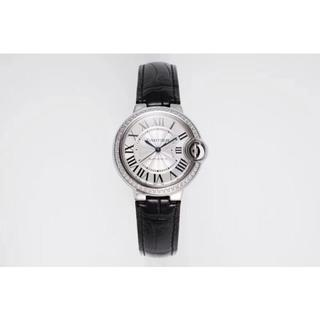 Cartier - カルティエ  シルバー ダイヤ 42㎜ 自動巻 腕時計