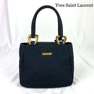 Saint Laurent - 極美品 Yves Saint Laurent ロゴ金具 ハンドバッグ