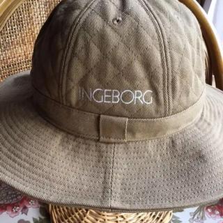 INGEBORG - インゲボルグ 帽子 色(ベージュ)