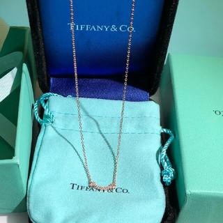 Tiffany & Co. - Tiffany & Co.ティファニー T スマイル ネックレス ダイヤ