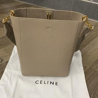 celine - CELINE サングルバケットスモール トープ