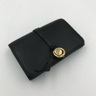 Chloe - 【赤字値下げ!】Chloe(クロエ)3つ折り財布 チャーム付き ブラック黒