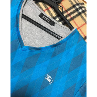 BURBERRY BLACK LABEL - 【人気デザイン】アーガイル柄 Tシャツ