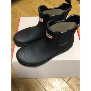HUNTER - HUNTER Chelsea ブーツ uk 5 24.0cm 黒