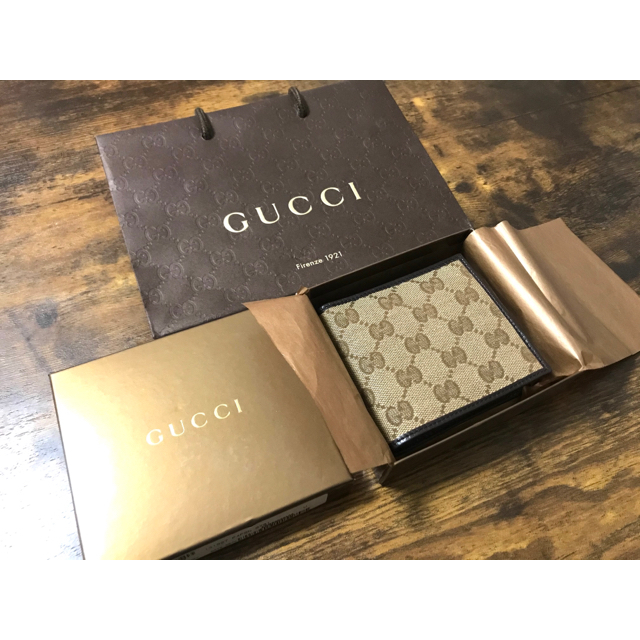 Gucci - GUCCI 財布 新品、未使用の通販