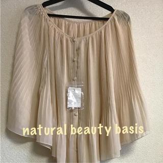 ナチュラルビューティーベーシック(NATURAL BEAUTY BASIC)の新品 natural beauty basic  ブラウス(シャツ/ブラウス(長袖/七分))