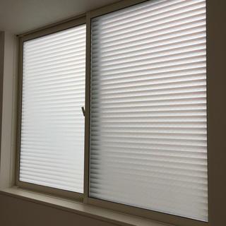 DUOFIRE 窓用フィルム UVカット ブラインド風 90×52cm(ブラインド)