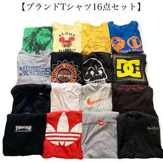 THE NORTH FACE - ブランドTシャツ16点セット ノースフェイス アディダス アルマーニ メンズ