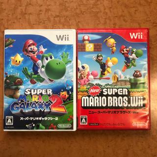 Wii - New スーパーマリオブラザーズ Wiiとスーパーマリオギャラクシー2セット