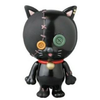 メディコムトイ(MEDICOM TOY)の【新品】MEDIBUTTON BLACK CAT Ver.(その他)