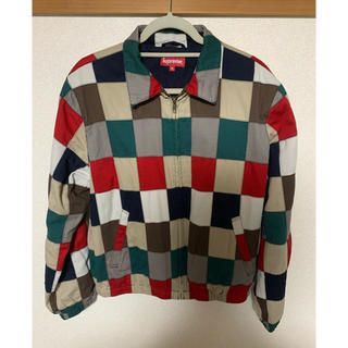 Supreme - Supreme patchwork jacket ハリントン パッチワーク M