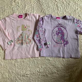 ディズニー(Disney)の女の子 90 トレーナー ❤︎ ディズニー ❤︎ ラプンツェル ベル(Tシャツ/カットソー)