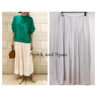 Spick and Span - Spick and  Span ロングプリーツスカート