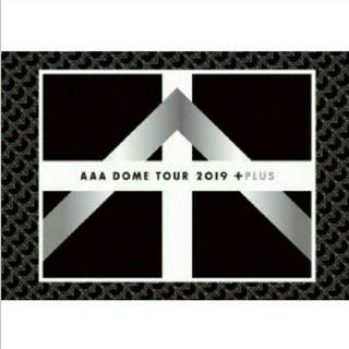 AAA - 新品見再生AAA DOME TOUR 2019 +PLUS DVD
