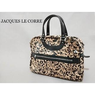 H.P.FRANCE - JACQUES LE CORRE ジャックルコー ハンドバッグ リスボン ハラコ